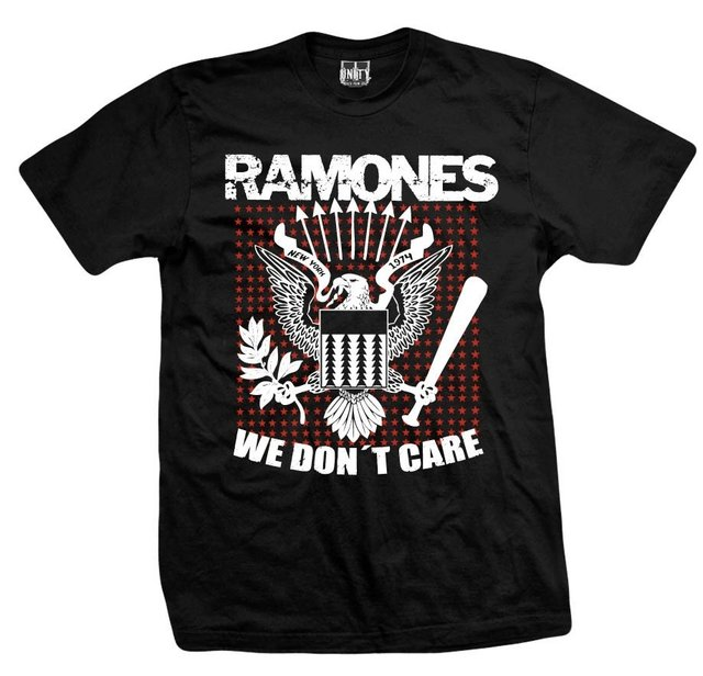 Remera RAMONES WE DON'T CARE