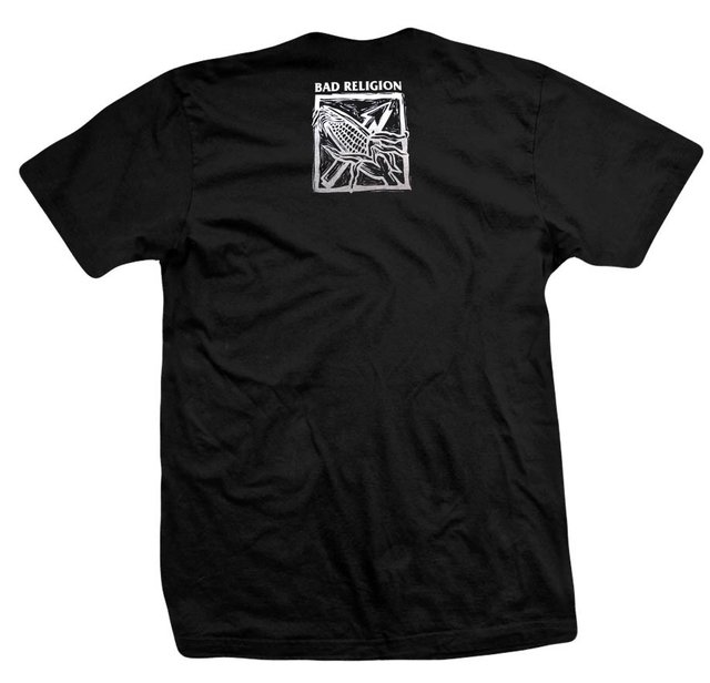 Remera BAD RELIGION AGAINST THE GRAIN - comprar online