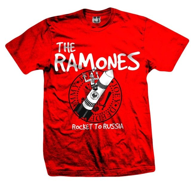 Remera RAMONES ROCKET TO RUSSIA