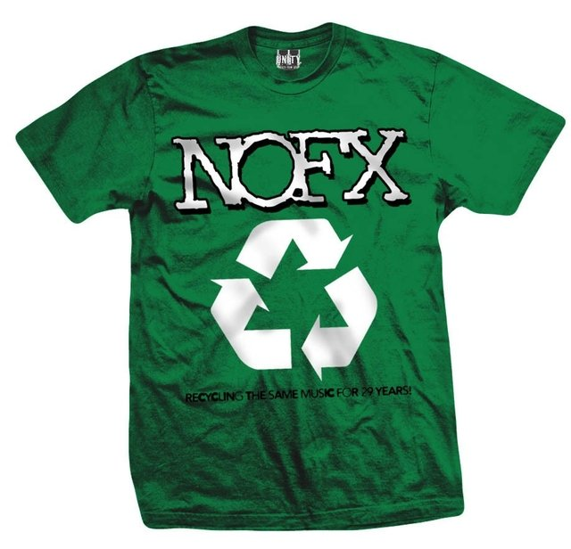 Remera NOFX RECYCLE