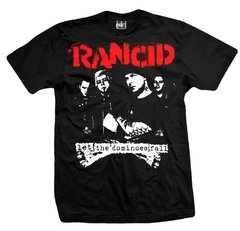 Remera RANCID DOMINOES FALLS