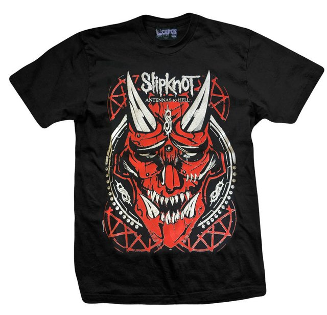 Remera SLIPKNOT ANTENNAS TO HELL