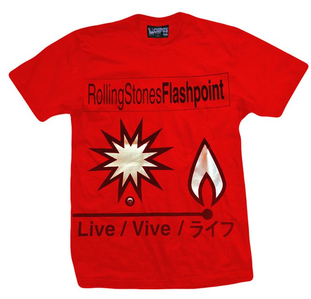 Remera THE ROLLING STONES FLASHPOINT