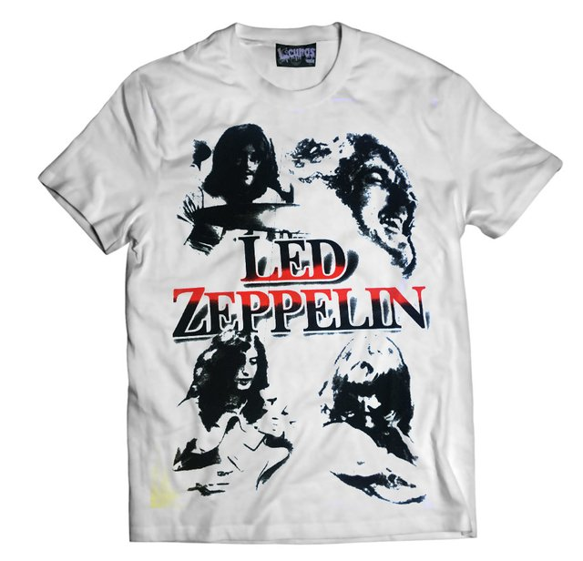 Remera LED ZEPPELIN BANDA