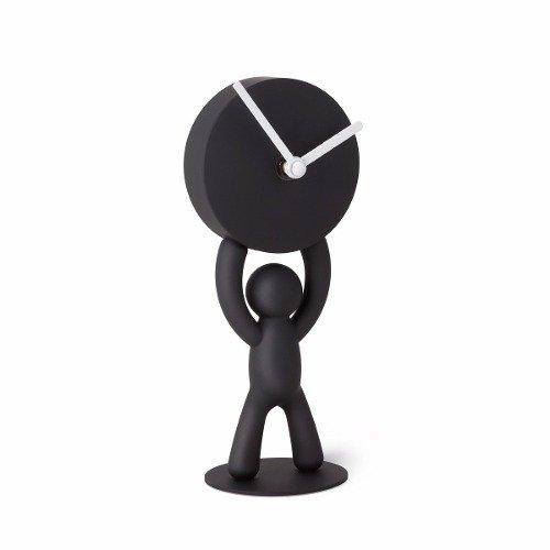 ecb23630eb0 Relógio De Mesa Boneco Buddy Preto Umbra - Delar