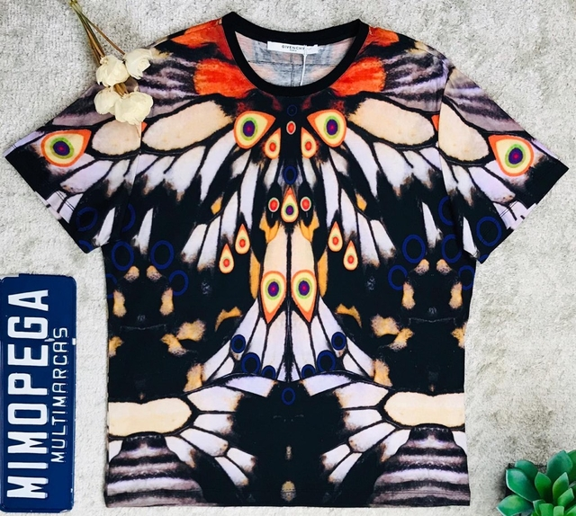 97f5511b2e2 T-shirt Givenchy butterfly - Mimopega multimarcas