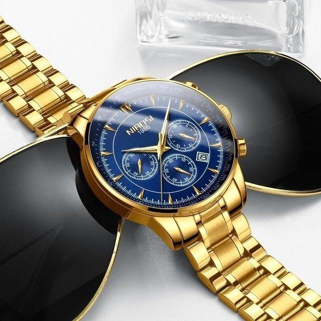 7a719c79bed Relógio Nibosi Inox Gentleman - Yasmin Store