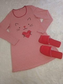 KIT CAMISOLA + PANTUFA ROUGE