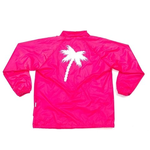 Windbreaker Pink - Collab Golpe Oficial + Hollywoodogz