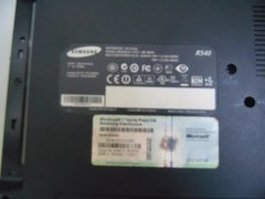 Carcaça (inferior) Base Chassi Notebook Samsung R540 S Tampa - loja online