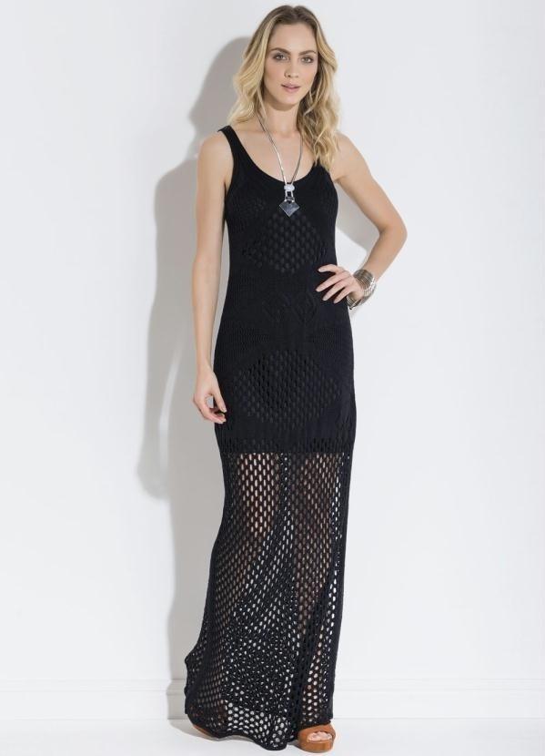 Populares Vestido longo tricot - Comprar em Velvet Store HW09