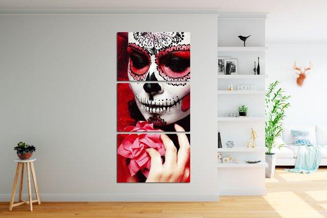 54b12935c Quadro Decorativo Catrina 38 - comprar online
