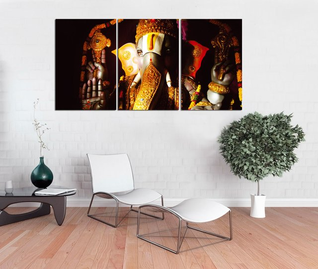 456748ced Quadro Decorativo Lord Ganesha 41 - comprar online