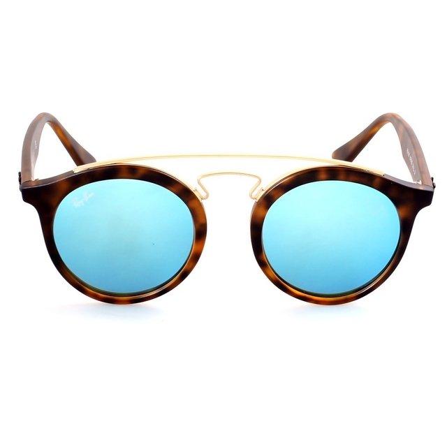 anteojos ray ban azules