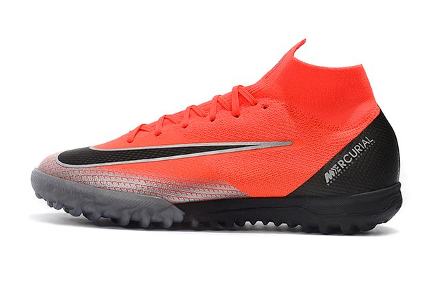 8fff7d1f58 CHUTEIRA NIKE SOCIETY MERCURIAL SUPERFLYX VI ELITE TF - CR7 CAPITULO 7