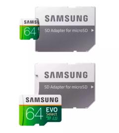 Micro Sd Samsung Evo Select 64 Gb 100mb/s - Exclusive Shop