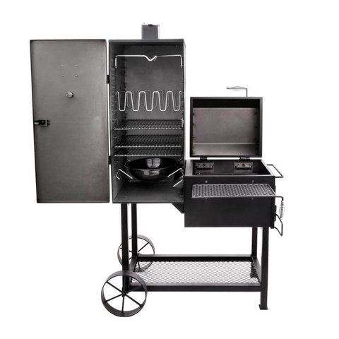 OKLAHOMA JOE'S BANDERA VERTICAL OFFSET SMOKER en internet