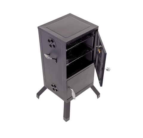 VERTICAL 365 CHARCOAL SMOKER CHAR-BROIL - CharBroil