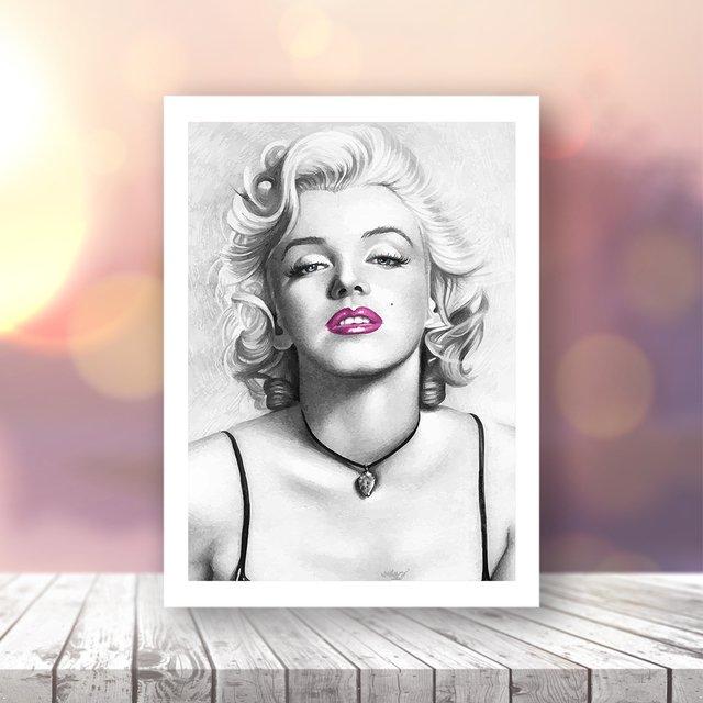 Quadro Marilyn Monroe | Pirilampo |Decor