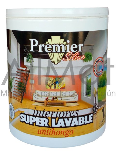 Latex Premier Silice Interiores Superlavable Antihongos