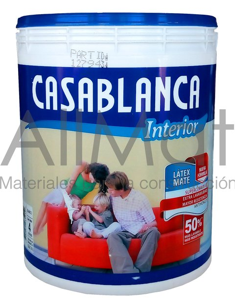 LÁTEX CASABLANCA PERFORMANCE INTERIOR MATE ANTIBACTERIAL