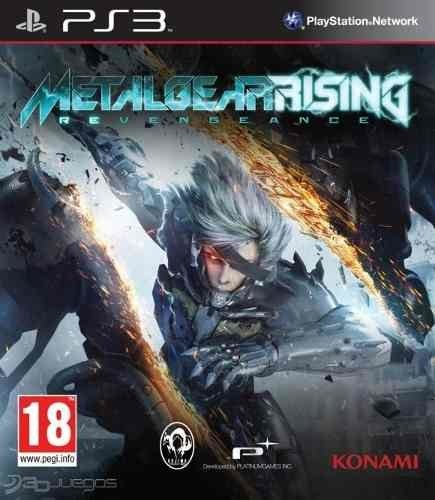 Juego Ps3 Metal Gear Rising Revengeance