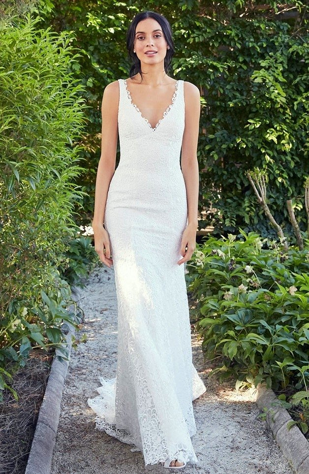Super Vestido Noiva Sereia Clean GC64