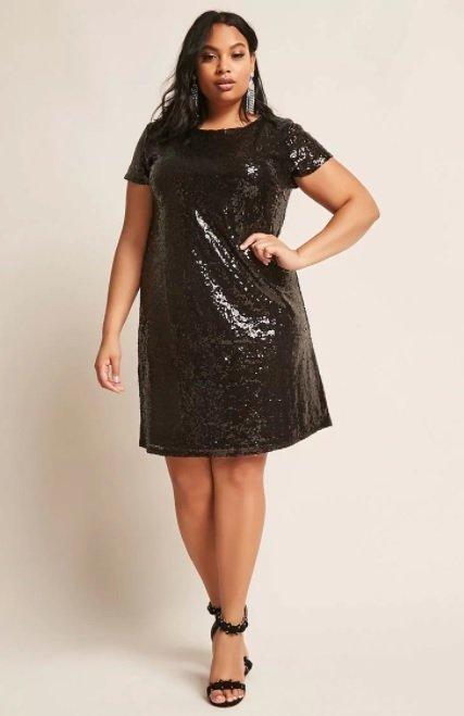 Comprar vestido preto plus size