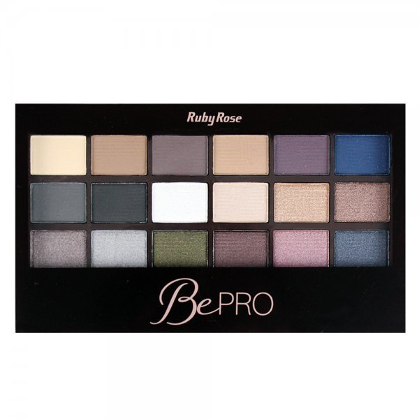 Paleta de Sombras - Be Pro Ruby Rose