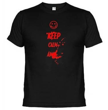 Camisetas Keep Calm And ... 1633