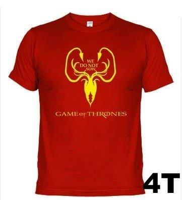 Camisetas Séries Casa Greyjoy Game Of Thrones