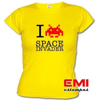 Imagem do Camisetas Games Space Invaders 1843