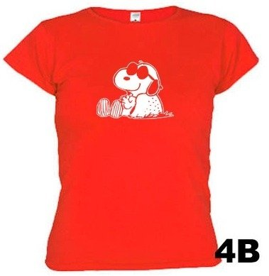 Camisetas Snoopy Descanso 394 - EMI estampas