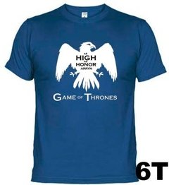 Camisetas Séries Casa Arryn Game Of Thrones