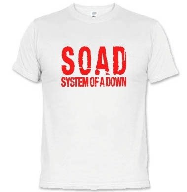 Camisetas Bandas System Of A Down 895