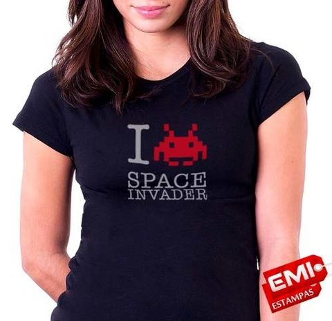 Camisetas Games Space Invaders 1843 - comprar online