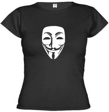 Camisetas V De Vingança Protesto Anonymous 312 - EMI estampas