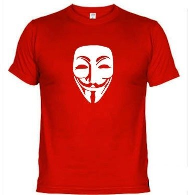 Camisetas V De Vingança Protesto Anonymous 312