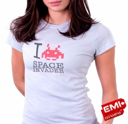Camisetas Games Space Invaders 1843 - EMI estampas