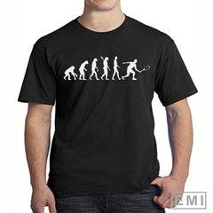 Camiseta evolução do Tênis