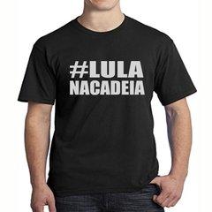 Camiseta Lula na Cadeia