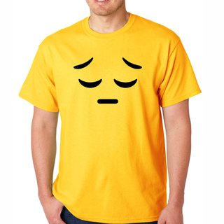 Camiseta emoji triste 2