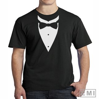 Camiseta Smolking terno 04