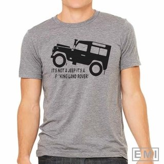 Camiseta Jeep Land rover
