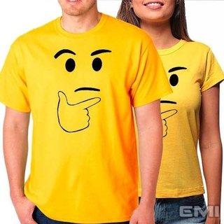 Camisetas Emoji Pensativo (cada)