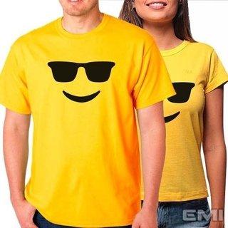 Camiseta Emoji Oculos (cada)