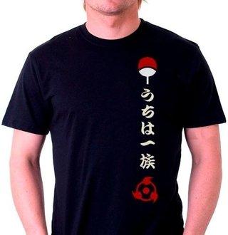 2189- Camisetas Animes Naruto Clã Uchiha