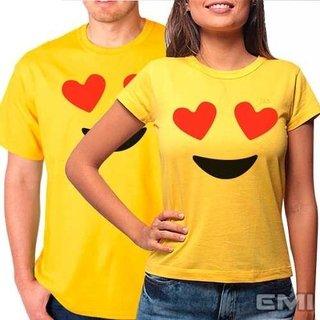 Camiseta Emoji Amando Amor (cada)