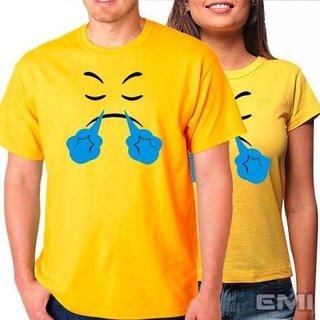 Camisetas Emoji Raiva Bufando (cada)