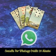 CRÉDITOS TAROT 20 MINUTOS AUDIO WHATSAPP